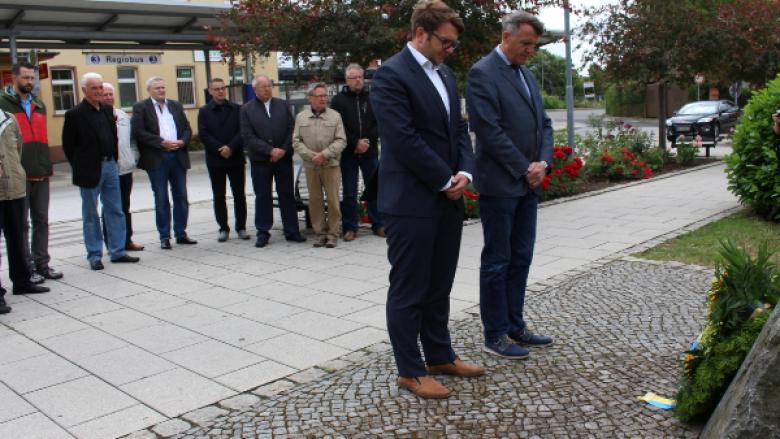 Erinnerung an den 17. Juni 1953 - Kranzniederlegungen in Delitzsch und Taucha