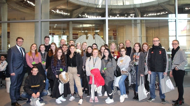Besuchergruppe Oschatz Bundestag