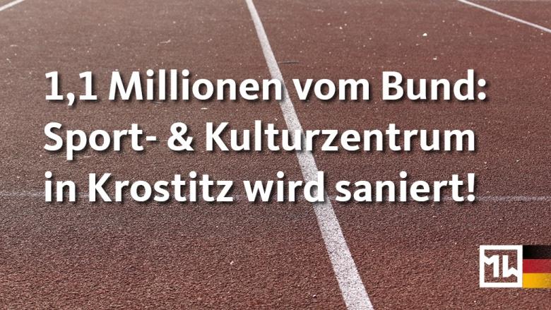 Sanierung Sportzentrum Krostitz
