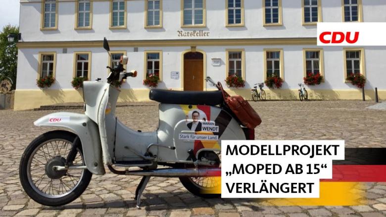 Wendt für Verlängerung Moped ab 15