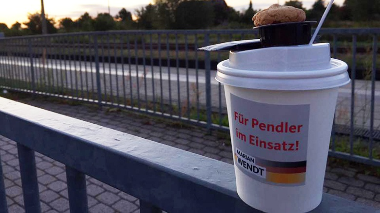 Kaffee für Pendler