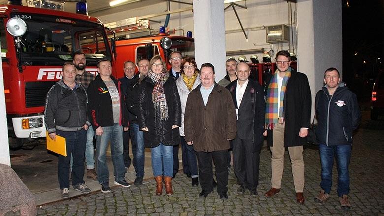 Abgeordnete bei Feuerwehr Belgern