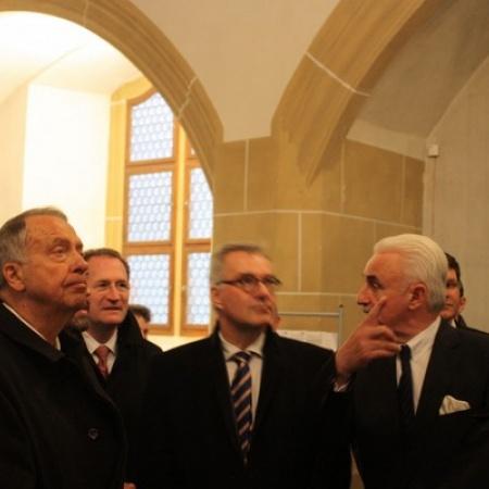Besuch von Staatsminister Neumann