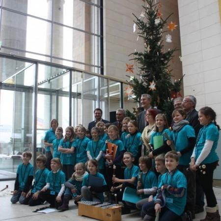 Besuch der Schülerinnen und Schüler aus Bad Düben