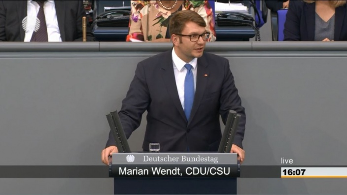 Rede Bundestag Maaßen