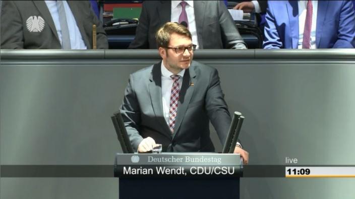 Rede zum Linksextremismus im Bundestag