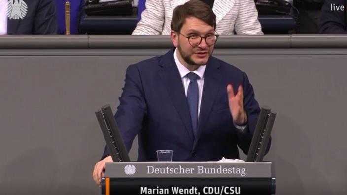 Rede Bundestag Meldepflicht