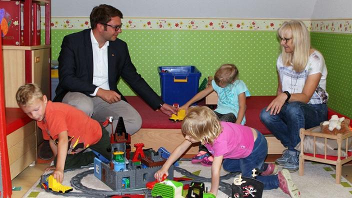 Der Bund fördert die Kinderbetreuung in Nordsachsen