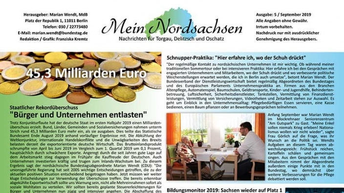 Mein Nordsachsen September 2019