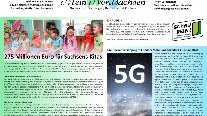 Mein Nordsachsen Ausgabe 1 2019