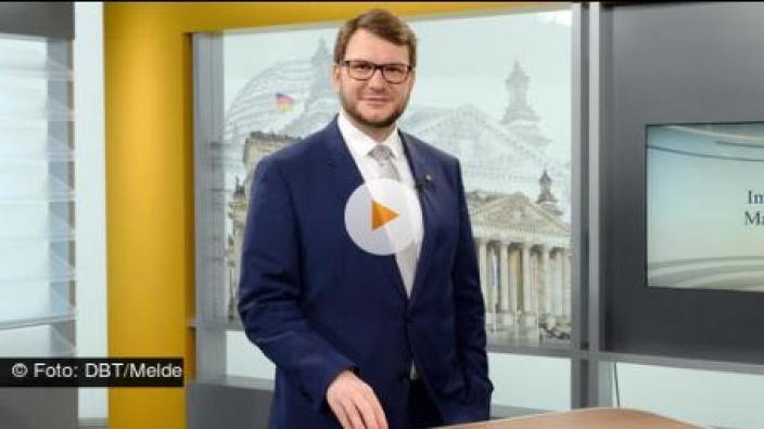 Interview Parlamentsfernsehen