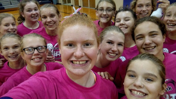 Nicoles Volleyball-Team