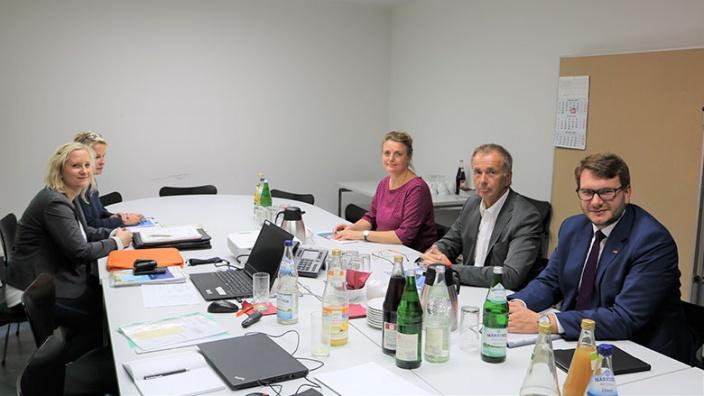 Sanierung Sportlerheim Mockrehna - Koordinierungsgespräch