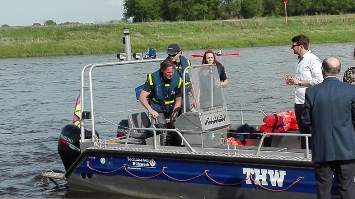 Technisches Hilfswerk Boot