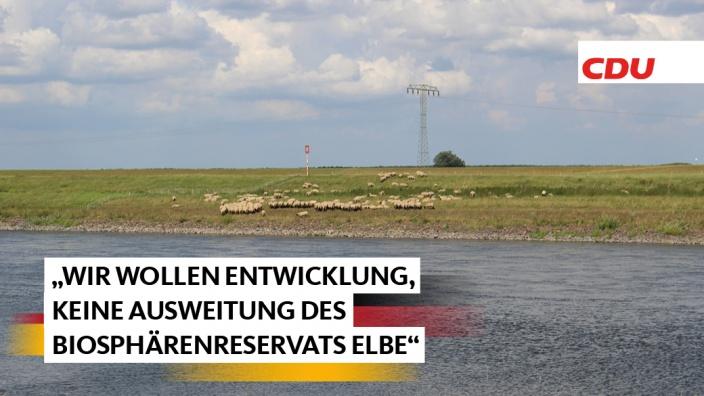Gegen Ausweitung des Biosphärenreservats Elbe