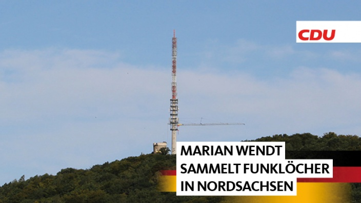Funklöcher in Nordsachsen beseitigen