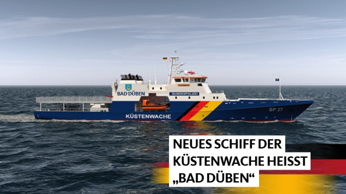 Küstenwache Schiff Bad Düben