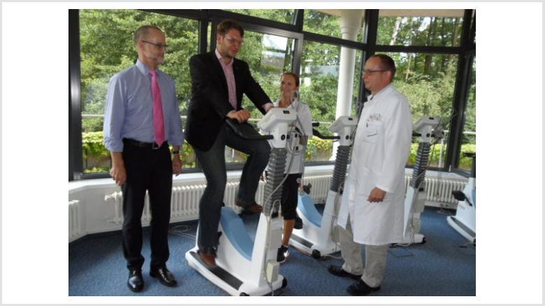 Besuch der Christiaan-Barnard-Klinik in Schmannewitz